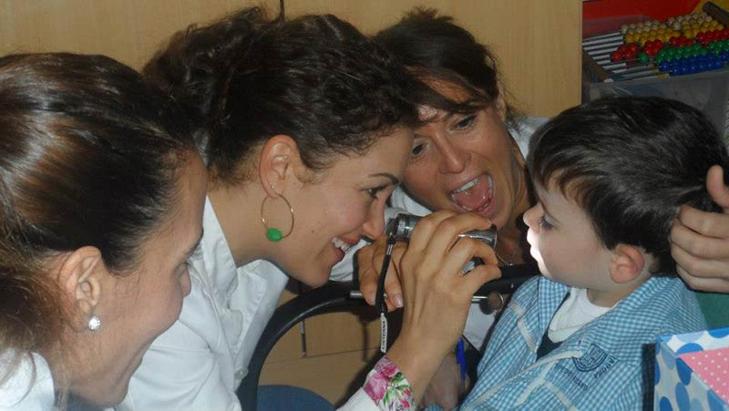 small children can benefit from dental check-ups. Dental Clinic Marbella.