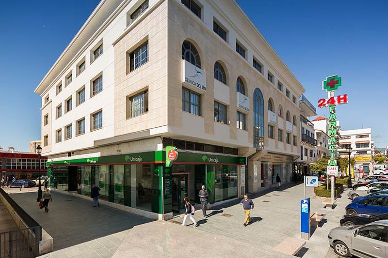 Dental Clinic Dr Hotz in Marbella at the 1st floor.