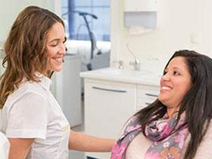 Estetico de la parte dental frontal. Clínica Dental San Pedro de Alcántara (Marbella)